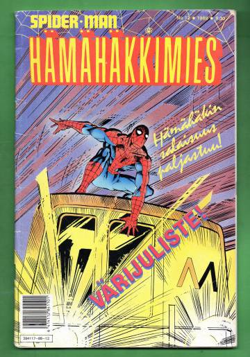 Hämähäkkimies 12/88 (Spider-Man) + juliste