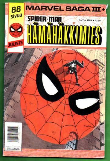 Hämähäkkimies 7/89 (Spider-Man) + Marvel Saga 3