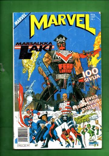 Marvel 6/91 - Marsalkka Laki