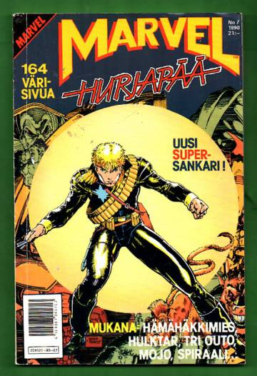 Marvel 7/90 - Hurjapää