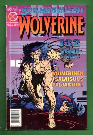 Sarjakuvalehti 1/93 - Wolverine