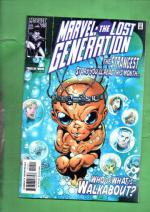 Marvel: The Lost Generation Vol. 1 #10 May 00