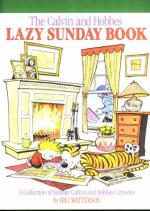 The Calvin and Hobbes - Lazy Sunday Book